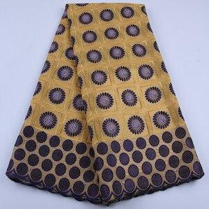 Image 2 - Venta caliente tela de encaje africano de alta calidad gasa Suiza encaje en Suiza tela de encaje africano de alta calidad para vestido de fiesta a1682