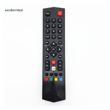 remote control  for TCL YouTube for smart TV A/V controle remoto 433mhz black RC200  latest factory price high quality MOONTREE  original rc602s voice search remote control for tcl tvs c70 x1 p60 x2 series uhd lcd tv 50p20us 65p20us 49c2us 55c2us controle