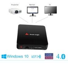 Intel Mini PC Intel Z3735F Quad Core 2 ГБ/16 ГБ Диск Кабель HDMI windows 8.1 Wi-Fi Bluetooth 4.0 tv box также расширение жесткий диск