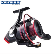 KastKing Sharky II 1500-6000 Serie 100% Impermeable Arrastre Max 19 KG Carrete Spinning Mar Pesca de Agua Salada Más Ligero y Más Fuerte carrete