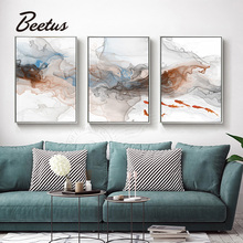 цены Abstract Wall Art Poster Oil Painting HD Prints Poster Nordic Abstract Canvas Home Decor Wall Picture For Living Room Unframed