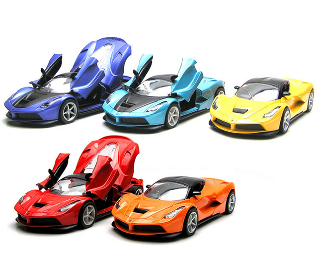 Hot sale 1:32 Alloy Pull back Car High Simulation Supercar Model Toys Metal Diecast Miniauto Excellent Christmas Gifts For Kids