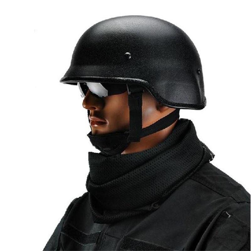 Military US PASGT M88 Steel Helmet/Tactical Helmet/ Security CS Outdoor War Game Motocycle Protection Tactical Helmet tanluren sw2143 tactical pure steel war game helmet sand