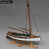 Kits de modelos de barcos de madera Kit de modelo de barco velero báscula de modelo de 1/35 juguetes calientes Hobby Maket Patrol modelo de madera-barco-ensamblaje