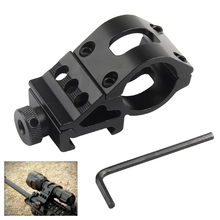 Airsoft Ring Rail Mount Offset Ring Side Gun Torch Mount For Flashlight Laser Rifle Scope Mount Fit 20mm Rail HT2-0002 cheap Bumlon 30mm Ring and 20mm Rail Mounted Guangdong China(Mainland) Aluminum Alloy Matte black finish the Rifle Barrel Picatinny Rail