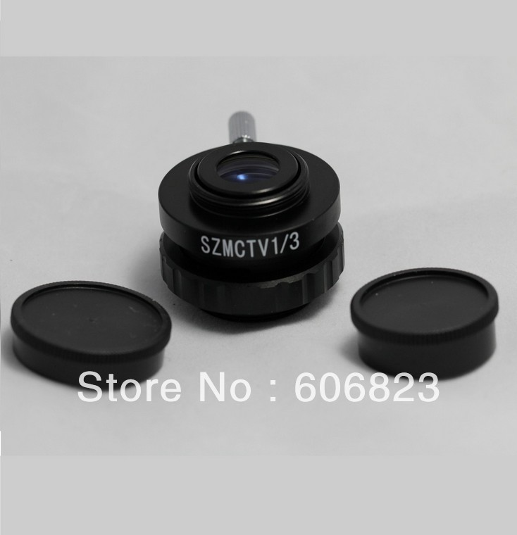 ФОТО Brand New 1/3 C-MOUNT LENS ADAPTER FOR VIDEO CAMERA Stereo MICROSCOPES! free shipping