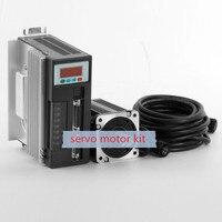 servo 750w servo motor ac kit 2.4N.M 3000RPM 3 phase electric motor 90ST M02430+ Matched Servo Driver
