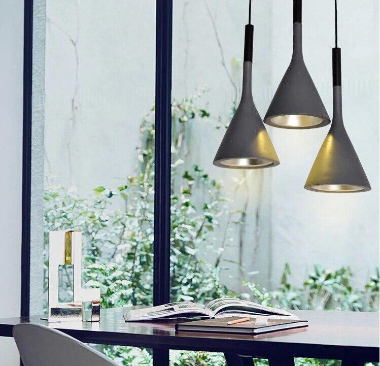 aliexpress koop moderne imitatie cement hanglamp nordic retro