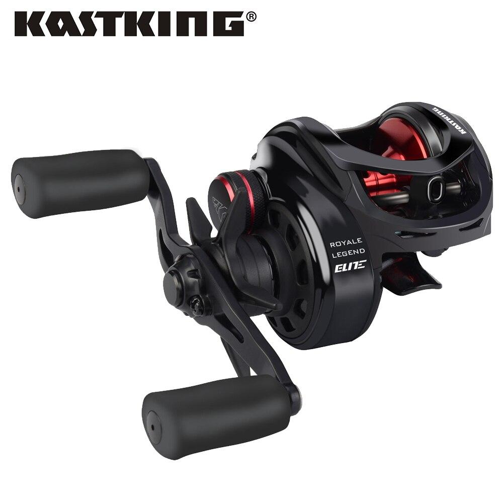 KastKing Royale Legend Elite 12BBs 205g 8KG 12LB Baitcasting Fishing Reel Magnetic Brake 4 Colors 4