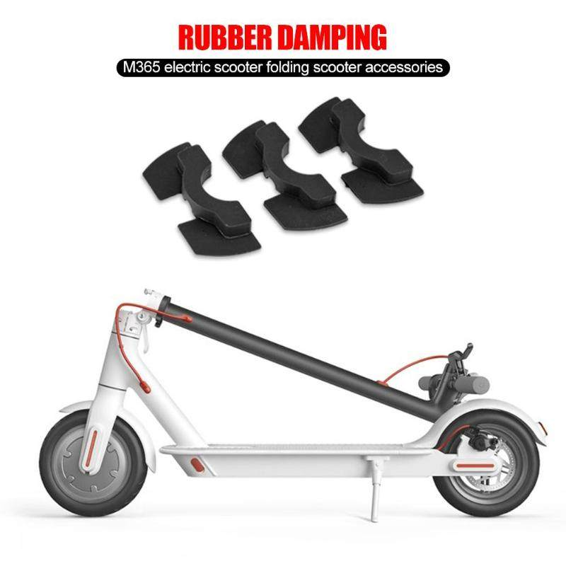 For Xiaomi M365 Scooter Vibration Avoid Damping Mijia Electric Scooter  Folding Stand Silicone Pad Rubber Cushion Scooter Tool