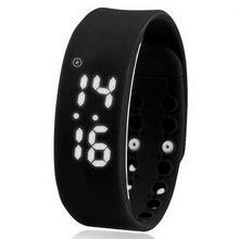 Новое прибытие смарт метр кольцо руки спортивные электронные часы любителей личности ребенка светодиодные часы