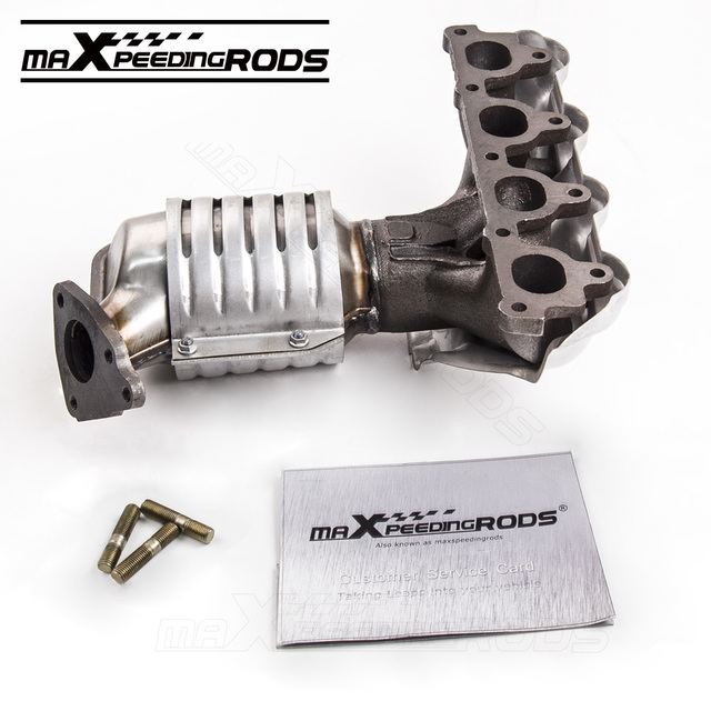 New Catalytic Converter With Exhaust Manifold For 1996 2000 Honda Civic 674 439