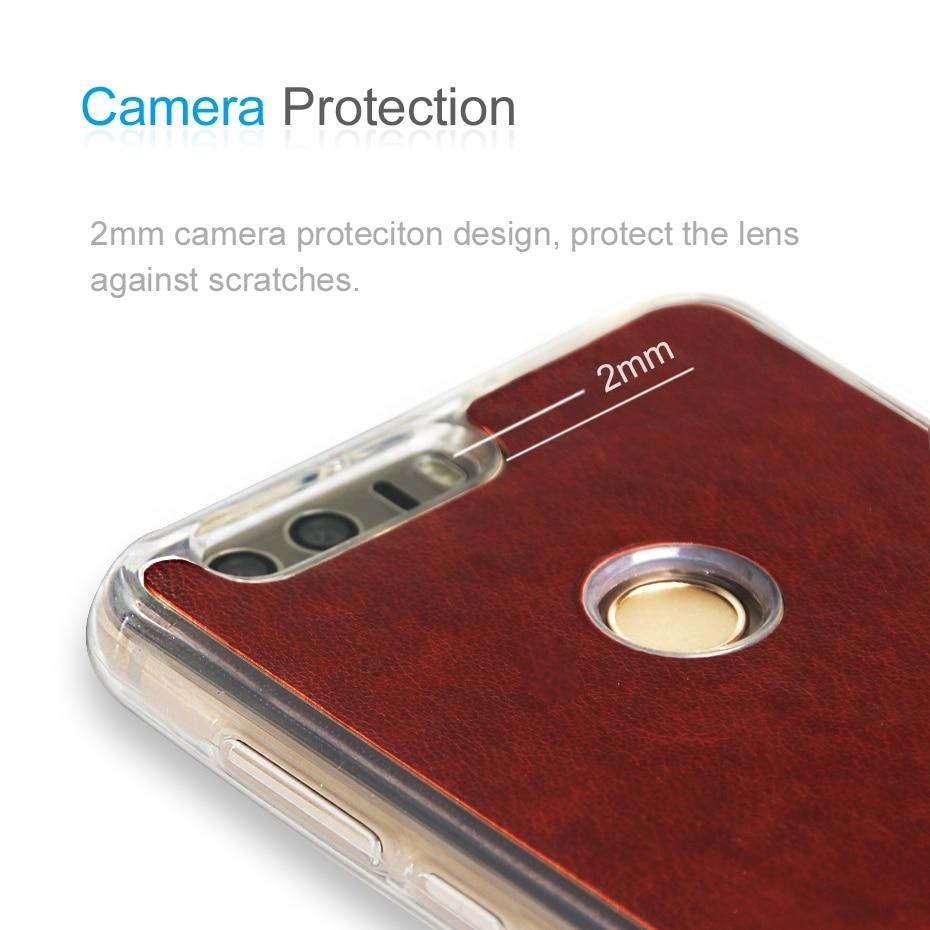 ZEASAIN- ի թափանցիկ հետևի շապիկ Huawei Honor 8 - Բջջային հեռախոսի պարագաներ և պահեստամասեր - Լուսանկար 5