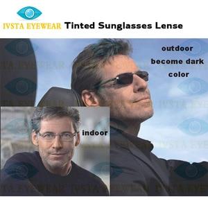 Image 2 - IVSTA przyciemniane okulary soczewki fotochromowe mężczyźni kobiety dioptrii stopień optyczny recepta anti Scratch 1.56 1.67