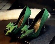 Marque Nouvelle 2016 Qualité femmes Chaussures De Mariage de mariée De Mode Femmes pompes Haute Talons Parti Chaussures loisirs travail lady pompe chaussures ol
