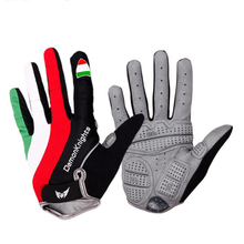 Cycling Gloves Palm Thicken Mat Bike Windproof  Full Finger Anti-slip Bicycle