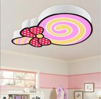 iron acrylic PVC diameter: 53 cm high: 55 cm Children lamp bedroom sweet LED penguin light material for metallic Ceiling Light