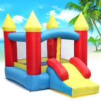 1 комплект надувной замок открытый Крытый Универсальный батут надувной замок игральные игры для детей подарок