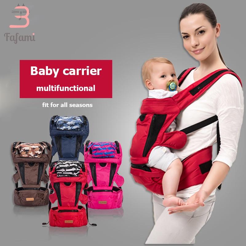 Sacs à dos et transporteurs pour bébé 9 en 1 Hipseat ergonomique nouveau-né à bambin porte-bébé sac à dos à bandoulière kangourous enfants Wrap Seat