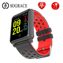 Get more info on the A30 Blood Pressure Smart Bracelet Real-time Heart Rate Monitor Smartband Waterproof IP68 Smart Band Activity Tracker For Sport
