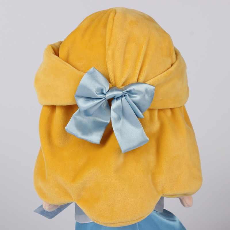 Disney Мультфильм Аниме 30 см плюшевая кукла принцесса кукла Золушка плюшевые игрушки Русалочка кукла мягкие детские игрушки подарок