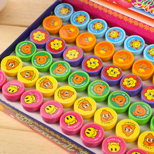 60 pcs/set Self-ink Stamps Kids Party Favors Supplies for Birthday Christmas Gift Boy Girl Goody Bag Pinata Fillers  ZA2245