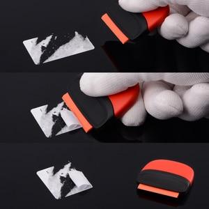 Image 2 - FOSHIO Araba Araçları Jilet Kazıyıcı Karbon Fiber vinil yapışkan Sökücü Wrap Silecek Kazıyıcı Otomatik sarma folyo Film Araba Aksesuarları