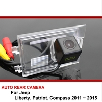 For Jeep Liberty Patriot Compass 2011~2015 Car Waterproof Night Vision reverse Rear View Reversing Backup Camera SONY