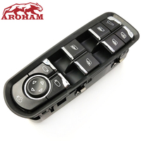 Aroham free Shipping! NEW Front Door Window Switch For Porsche Panamera Cayenne Macan 7PP959858MDML