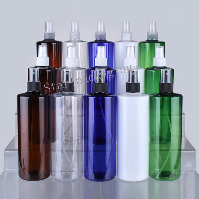 3bfa1b8381cd US $35.7 7% OFF|12pcs 500ml Multicolor Plastic Perfume Bottle Refillable  Mist Sprayer Bottle Promotion Sample Atomizer Empty Perfume Test Vials-in  ...