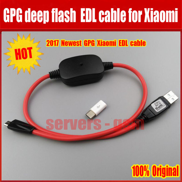 Mới nhất GPG sâu flash cable đối với Xiaomi di động EDL cable được thiết kế cho tất cả các Qualcomm điện thoại vào Sâu Chế Độ Đèn Flash