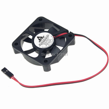 2pcs/lot Dupont 2Pin 5V 5cm 5010 50x50x10mm 50mm Brushless DC Cooling Cooler Fan sunon2 5cm ec0510b2 q01u g99 2515 5v 0 2w cooling fan