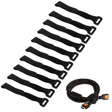 10шт 20% 2A2см прочный RC аккумулятор галстук пух ремень многоразовый нескользящий кабель ремни черный% 2Fжелтый% 2FRed% 2FGreen% 2FBlue