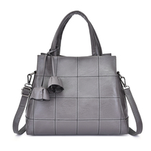 купить Sac a main Leather Luxury Handbags Women Bags Designer handbags High Quality Women Shoulder Bag Female crossbody messenger bag по цене 1527.15 рублей