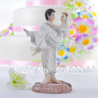 Free Shipping Just Married Beach Couple Figurine