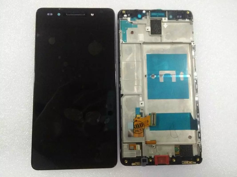 ФОТО For Huawei Honor 7 LCD Display with Touch Screen Digitizer Assembly with frame +tools Free shipping