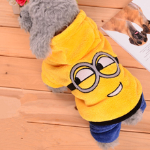 Minions Winter Coat for small Dogs