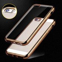 Hc22 5S capinha силикона case для iphone 5/5s/se крышка роскошные прозрачный мягкий Принципиально Coque Для Телефона я 5 S Phone5 Коке Fundas