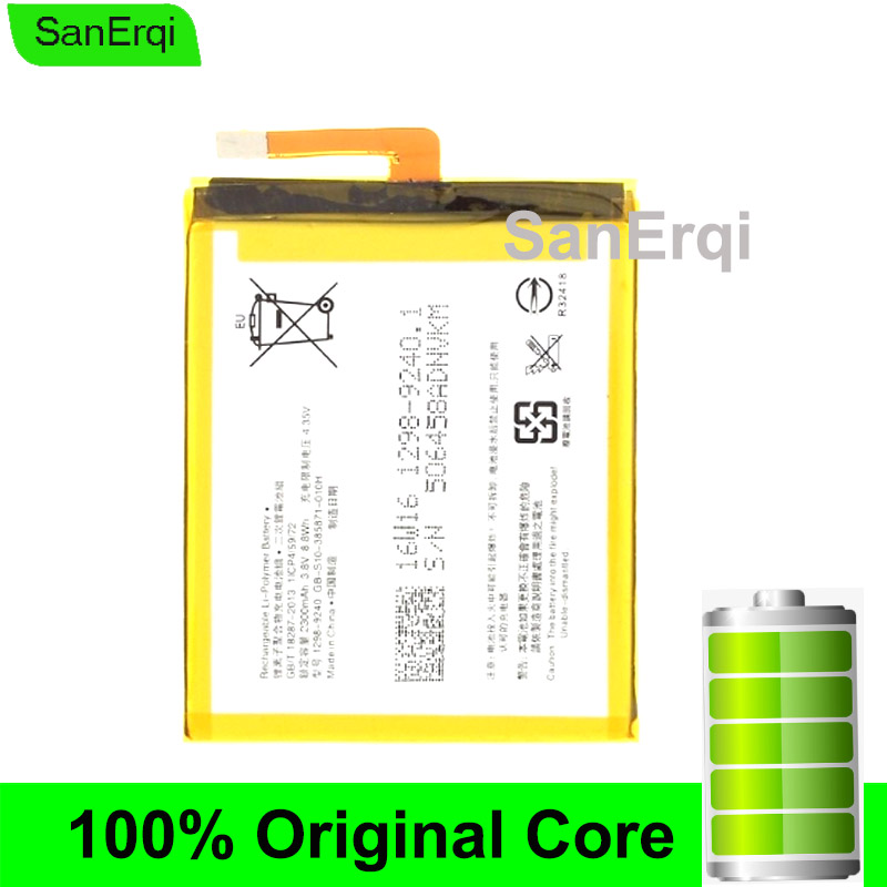 Batterie pour Sony Xperia XA F3111 F3112 E5 F3116 F3115 F3311 F3313 LIS1618ERPC Batterie 2300 mAh