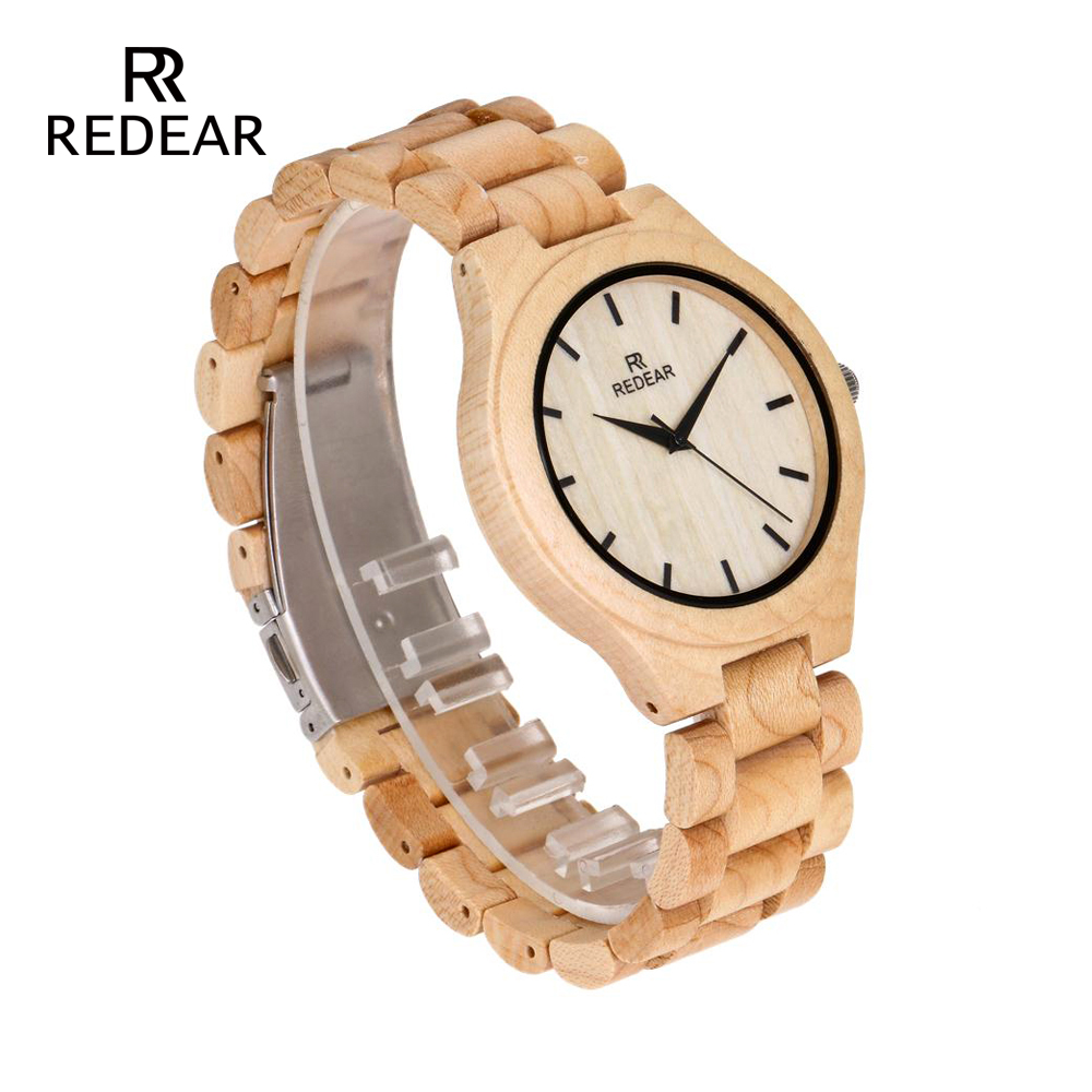 REDEAR Pine Wooden Quartz Watch Season Gift Edition - Әйелдер сағаттары - фото 3