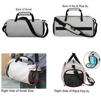 Men Gym Bags For Training Bag Tas Fitness Travel Sac De Sport Outdoor Sports Swim Women Dry Wet Gymtas Yoga Shoes Bag XA103WA 4
