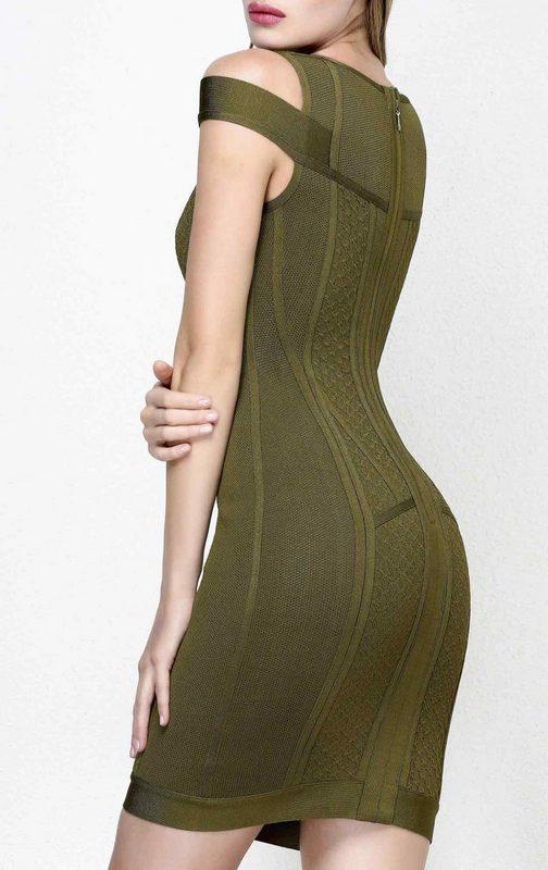 Sexy Vert Tenue Up Simple Qualité Creux Supérieure Femmes Réservoir De Fête Rayonne Soirée Élégant Homecoming Ux441Aqpw