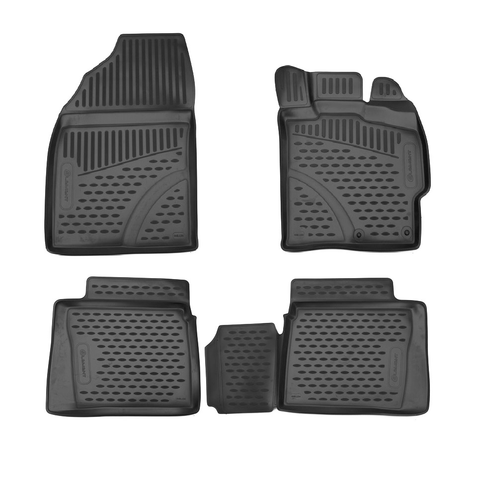Per Toyota Prius NHW30 2009-2015 GUIDA A DESTRA 3D tappetini in saloon 4 pz/set Elemento ELEMENT3D48134210