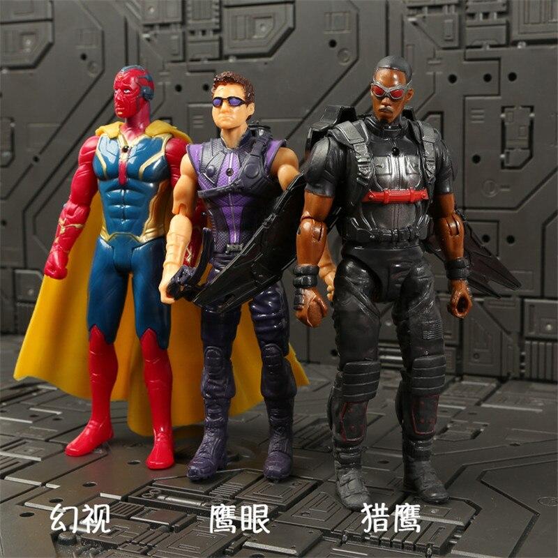 Marvel Мстители 3 Бесконечность войны фильм Аниме Супер Герои Капитан Америка, железный человек, Халк Тор супергерой Фигурки игрушки