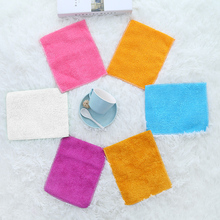 5 Pcs Kitchen Anti-grease wipping rags efficient Bamboo Fiber Cleaning Cloth home washing dish Multifunctional Tools
