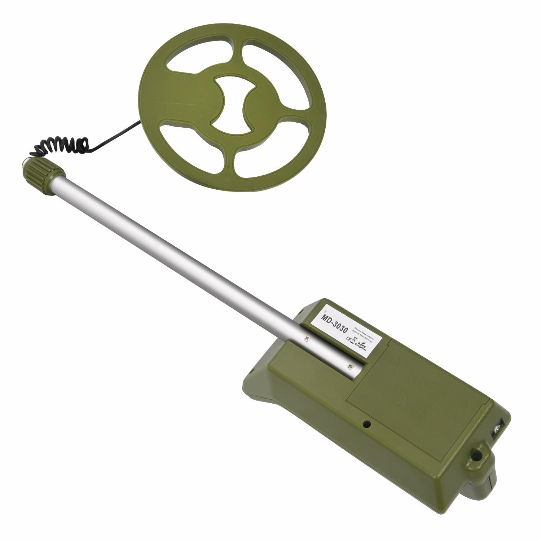 цена MD3030 Handheld Metal Detector Seben Allround Function UnderGround Scanner Finder Tool for Gold Digger Treasure Seeking Hunter