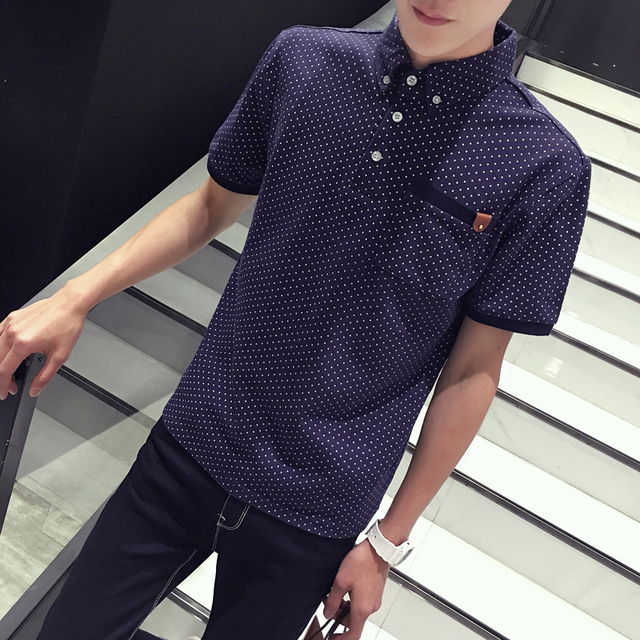 Camisas de Polo del verano de manga corta de los hombres xxxxl xxxxxl xxxxxxl xxxl Plus size Slim color Rojo azul Marino Verde