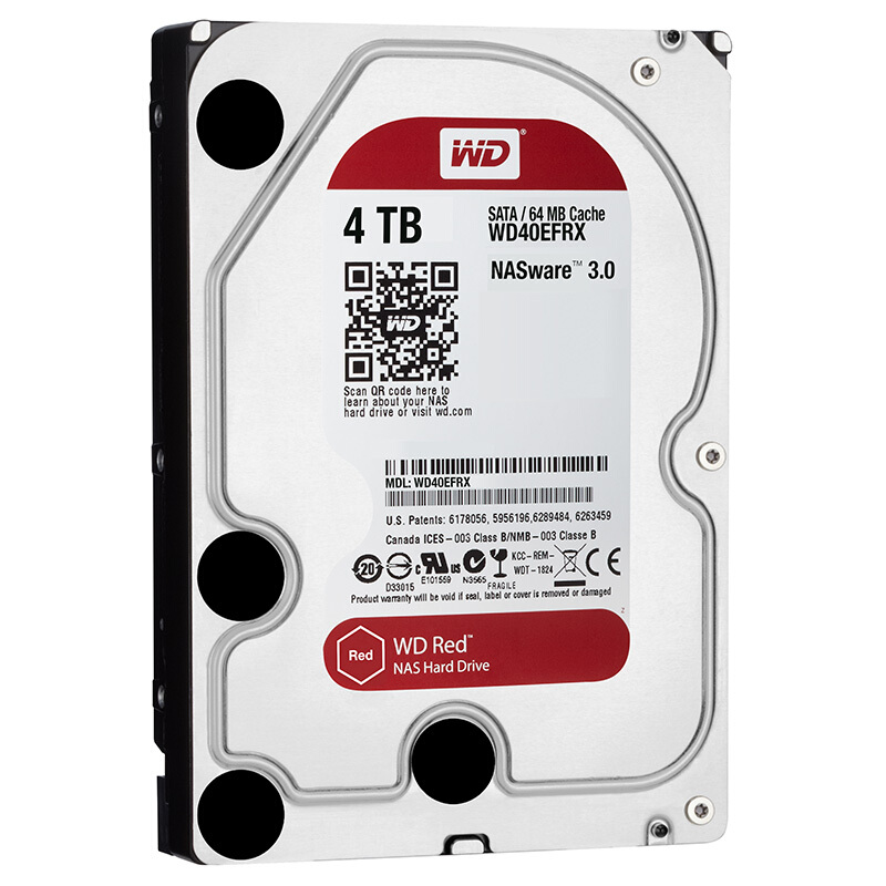 Image 4 - Western Digital WD Red NAS 2TB Hard Disk Drive  2TB 3TB 4TB   5400 RPM Class SATA 6 GB/S 64 MB Cache 3.5 Inch for Decktop Nas-in External Hard Drives from Computer & Office