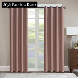 Modern Velvet Blackout Curtains For The Living Room Solid Color Window Curtains For Bedroom Treatment Blinds Drapes 95% Shading