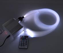 DIY RGB LED Твинкл Волоконно-Оптических Потолок Звездный Свет 0.75 мм * 150 шт. * 2 м + 1.5 мм * 20 шт. * 2 м mix оптического волокна